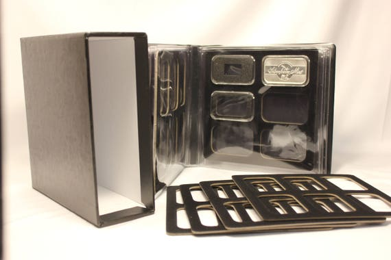 20 AIR-TITE Direct Fit Capsule Holder for 1 GRAM Silver Bar Acrylic Case Airtite