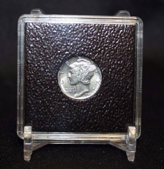5 AirTite WHITE Ring Capsules Coins 18mm For Nickel 3 C Gold $2 1//2 1840-1929