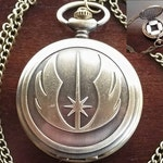 Pill Box Container, Jedi Necklace, Metal Pill Case, Metal Pill Container, Stash Pendant, Stash Necklace with Felt Lining and Chain, starwars