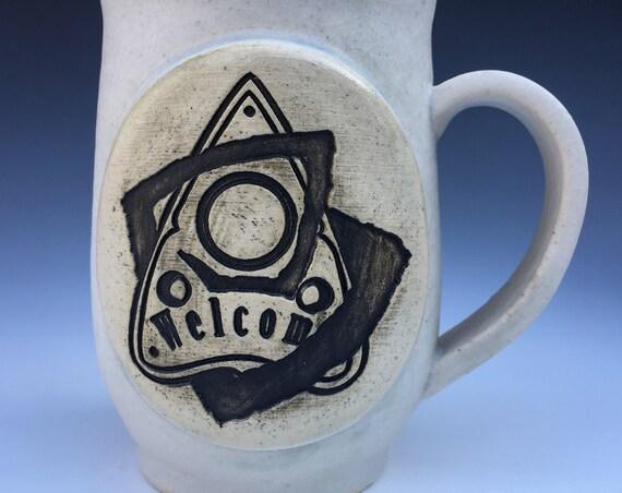Ouija Board Planchette Mug