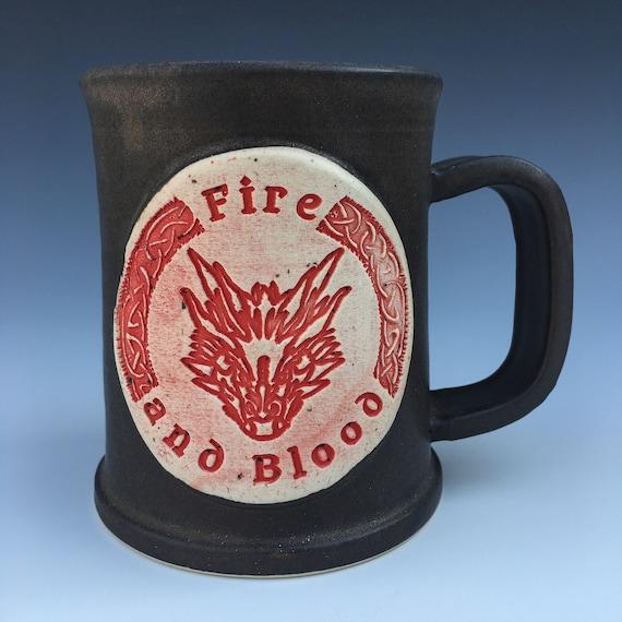 Game of Thrones - House Targaryen Mug - Fire and Blood