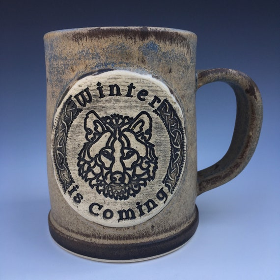 Game of Thrones - House Stark Mug - Winter is Coming