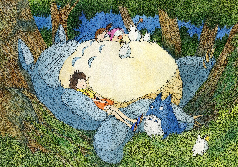 Watercolor Painting Watercolor Anime Art