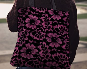 Book bag, Yoga bag, tote bag, Shopper bag, Shoulder bag, Gift for her, Cotton tote, Canvas tote bag, Beach bag, Shopping bag