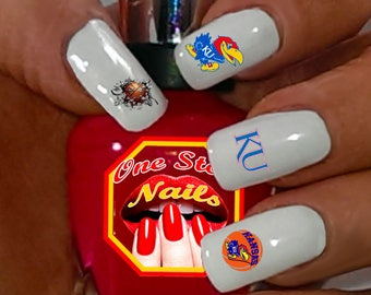 Basketball Nail Art Etsy