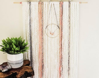 Yarn and Swag Wall Hanging (Large)