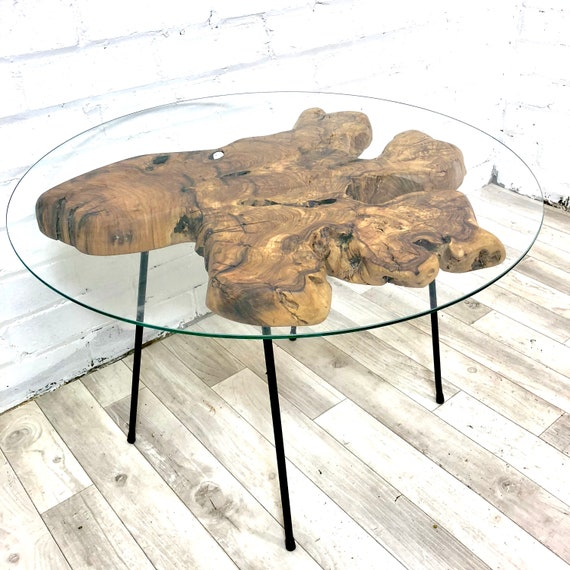 Olive Wood Coffee Table Etsy