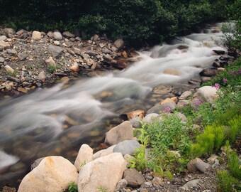 Long Exposure Stream - Alaska
