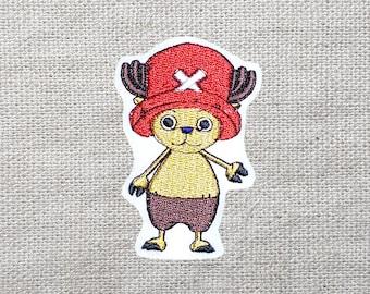 One Piece Tony Tony Chopper Embroidered Patch 1.9 x 2.8inch (48 x 72mm)