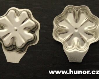 Cloverleaf cookie mold - 10 pcs - Metal molds for baking
