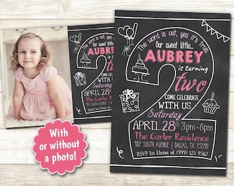 2nd Birthday Invite