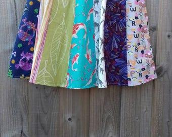 Super twirly panel skirt Age 10-12