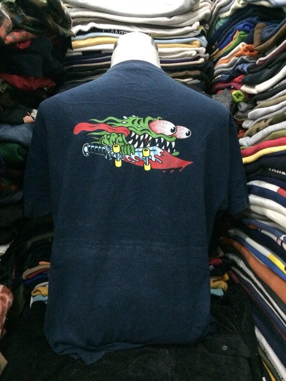 Vintage Santa Cruz Skateboarding Tshirt