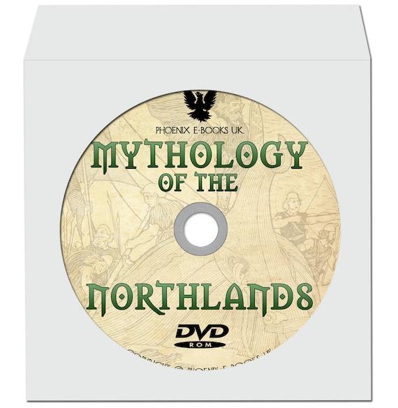 Mythology Of The North 180 Vintage Books Pdf On Dvd Rom Norse Etsy