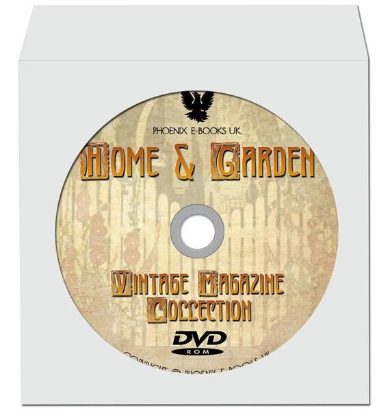 Home Garden Interior Design 276 Vintage Magazines Pdf On Etsy