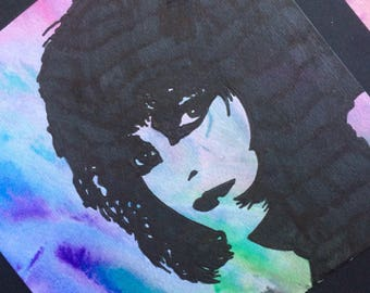 Acquerello originale fan art Siouxsie Sioux