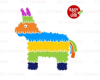 Pinata svg, Cinco de mayo svg, Fiesta svg, Svg Files, for Silhouette Cameo or Cricut Commercial & Personal Use.