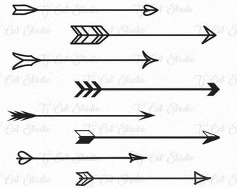Arrows vector, arrows svg, Arrow Valentines day, Arrows Valentines day, Arrow monogram frames, Svg Files for Silhouette Cameo or Cricut