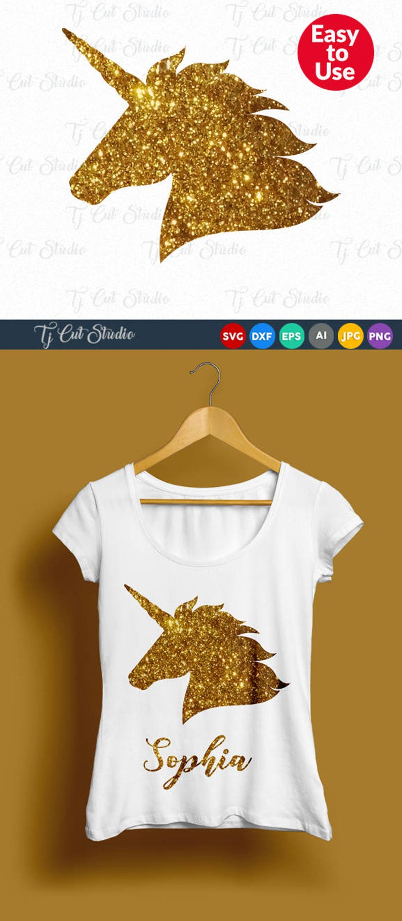 Unicorn Svg, Unicorn svg, Unicorn head svg, Unicorn birthday svg, Svg Files  for Silhouette Cameo or Cricut Commercial & Personal Use
