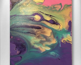 Marble Drops 1 abstract painting