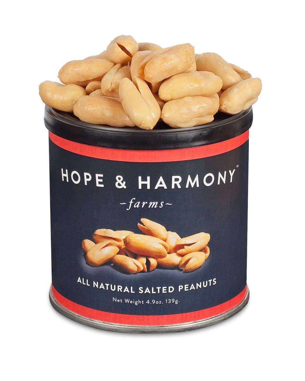 Virginia Peanuts Salted 6 49 Oz Tins Etsy
