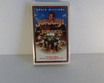 9f6d70fab4313 Items similar to Vintage Jumanji VHS tape - Robin Williams - Jumanji ...