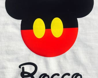 Mickey inspired shirt