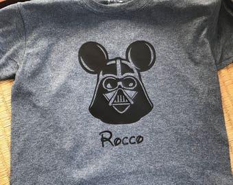 Disney Vacation Mouse Vader Shirt (Performance T-Shirt)