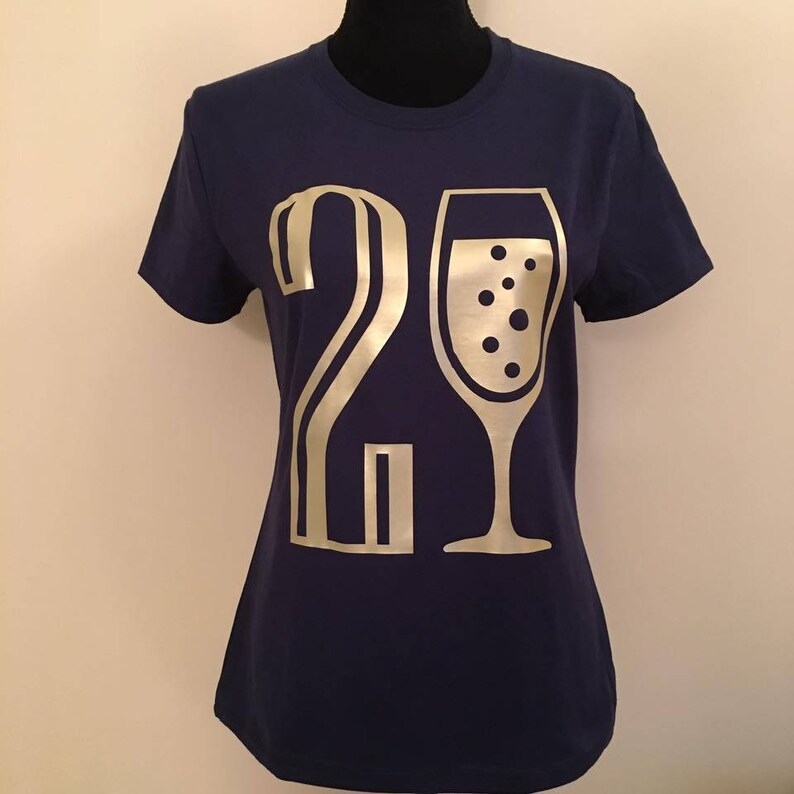 21st Birthday Shirt Twenty One Wine Tour