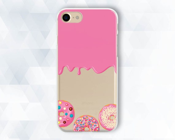 Donuts and Girl iphone case