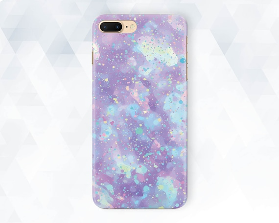 Opal I Phone Case Girl Cute I Phone Xr Xs Max 8 7 Girly Pearl Case For Samsung Galaxy S10 Plus S9 Pixel 3a Xl Charm Blue Pastel Cutie Purple by Etsy