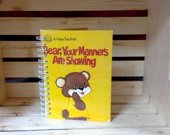Bear, Your Manners Are Showing Notebook