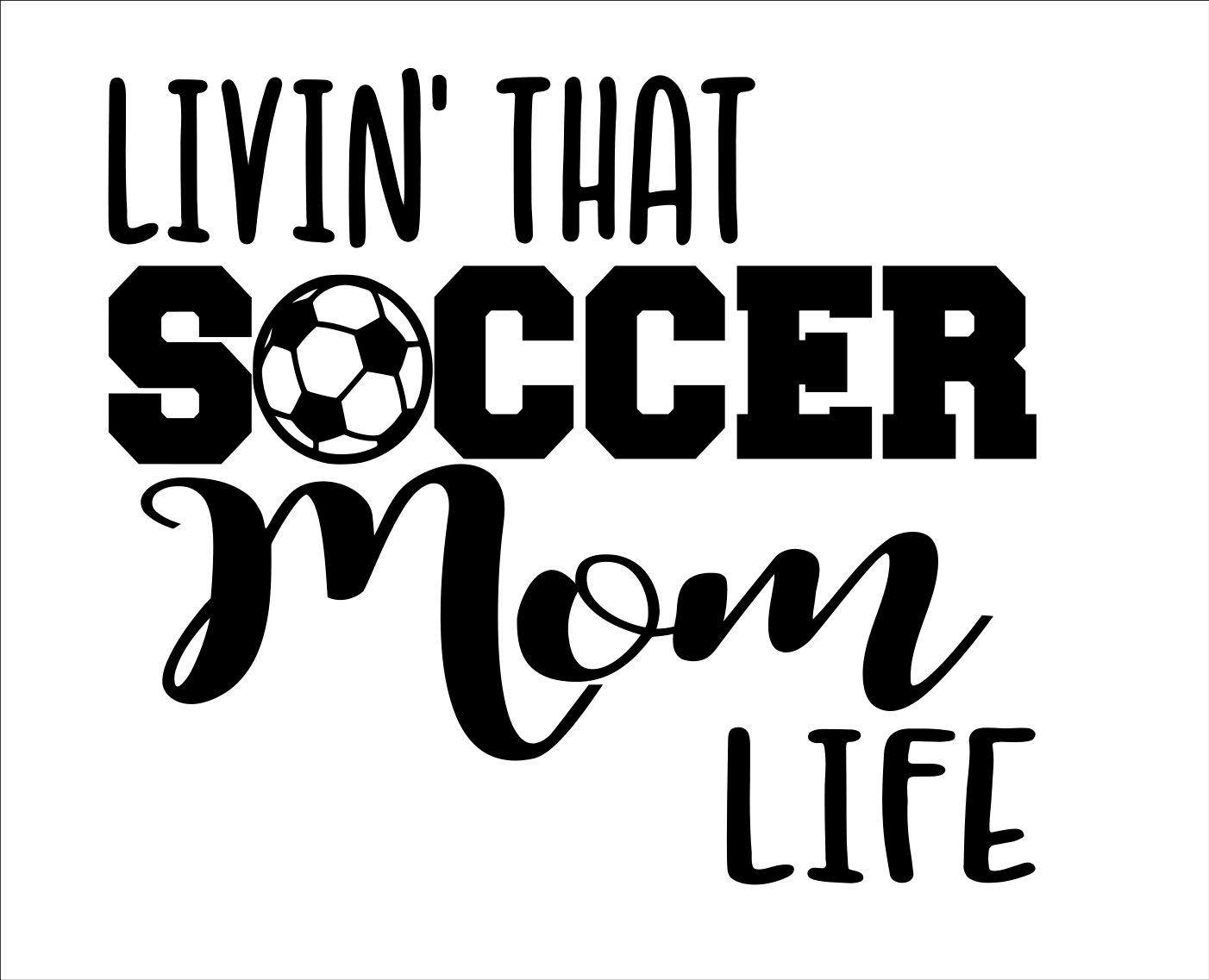 88a7efc93c2 Soccer Mom Shirt Decal | Splendid Wedding Company
