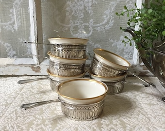 Royal Worcester Evesham Gold 3 3/8 Ramekin Creme Brulee Cup s Royal Worcester China & Dinnerware