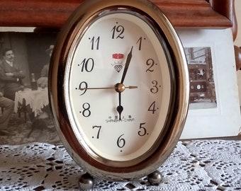 Vintage alarm clock home decor wind up clock mechanical clock China alarm clock