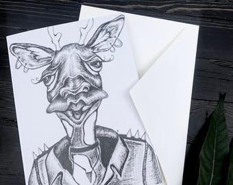 Giraffe Card!