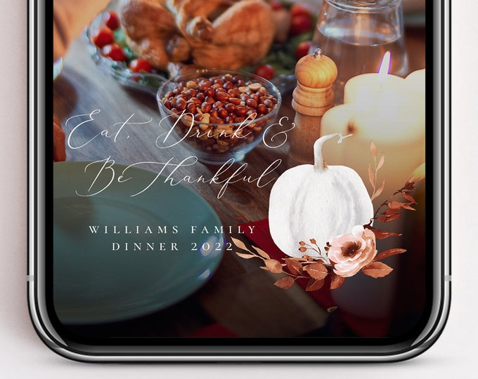 Thanksgiving Snapchat Geofilter Filter Snapchat Geofilter Thanksgiving Custom Snapchat Geofilter Snap chat Filter Personalized Filters TG