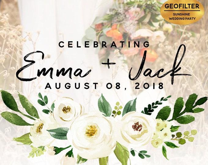 Wedding Snapchat Geofilter Wedding Snapchat Filter Wedding Snapchat Wedding Geofilter Wedding Filter Wedding Snap Chat PNG Floral Filter