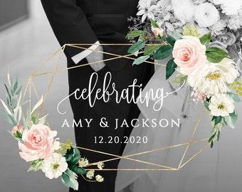 Blush White Floral Wedding Snapchat Filter Wedding Snapchat Geofilter Wedding Snapchat Wedding Geofilter Wedding Filter Wedding Snap Chat F5