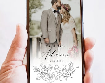 Wedding Instagram Story Template, Modern Instagram Template, Minimalist Instagram Template, Wedding Template, Instant Download, Templett, S1