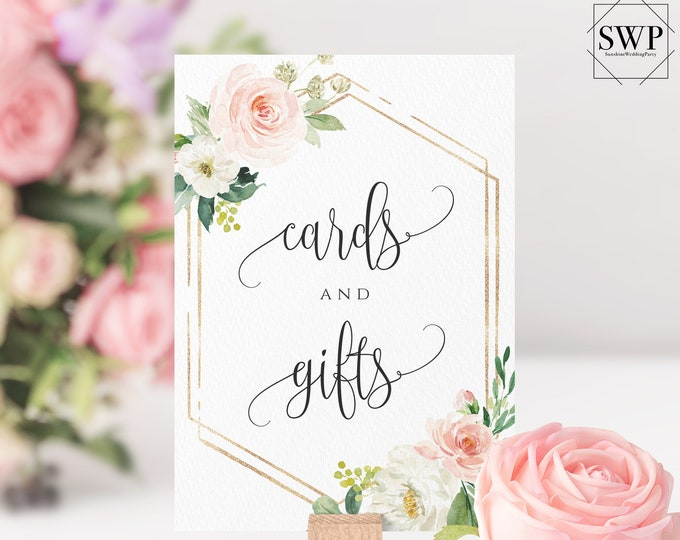 Cards and Gift Sign Wedding Cards and Gift Sign Printable Editable Wedding Sign Party sign Wedding Sign Wedding Signs Party signs Wedding F5