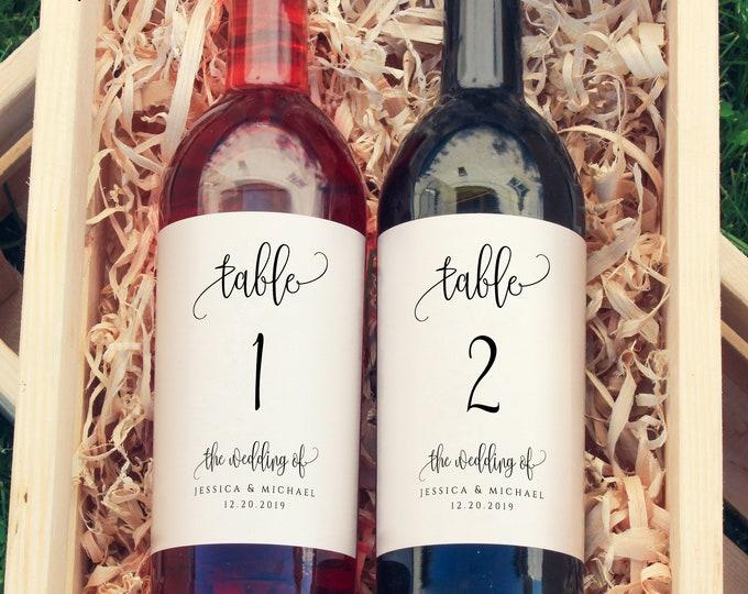 Wedding Wine Labels Wedding Wine Bottle Labels Wine Label Printable Wine Label Template Wedding Editable DIY Instant Download Templett R1