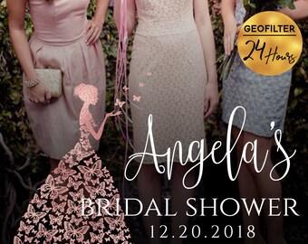 Bridal Shower Snapchat Geofilter Bridal Shower Filter Snap Chat Bridal Shower Geofilter Snapchat Filter Bridal Shower Geofilter PNG Filter