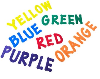 Color Game for Kids, Toddler Learning Colors, Preschool Color Activity for Felt Board, Montessori Speech Therapy Material, Literacy Game