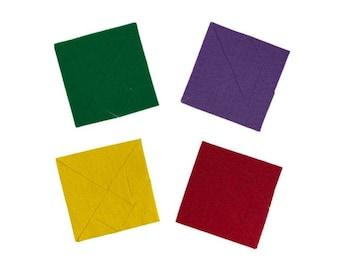 Felt Tangram Puzzles, Tangram Pattern Blocks, Tangram Puzzles for Flannel Felt Board, Preschool Learning Game, Early Math STEM Activity