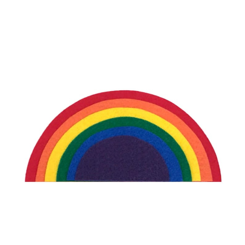 Felt Rainbow Decoration Nursery Decor Rainbow for Felt image 0