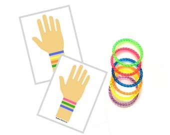Preschool Bracelet Game, Travel Busy Bags, Montessori Practical Life, Montessori Learning Materials, Montessori Gifts, Montessori Toys