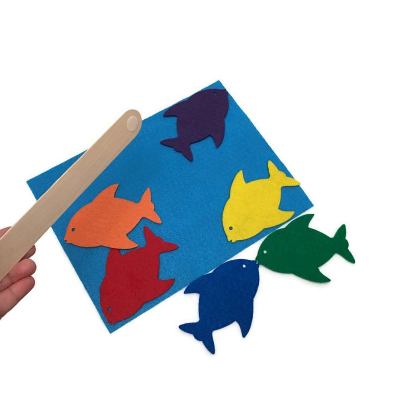 Fishing Game for Toddlers and Preschool  Magnet-free  image 0