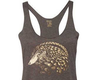 Pangolin Tank Top, 10% donated to animal causes