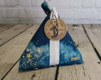 Moon and Stars Themed Notion Pouch.